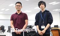 チームスピリットメンバーインタビュー〜 サーバーサイドエンジニア里石和也、フロントエンドエンジニア渡邉航〜