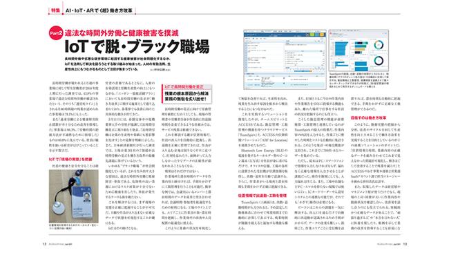 月刊テレコミュニケーション4月号にチームスピリットの紹介記事が掲載されました。