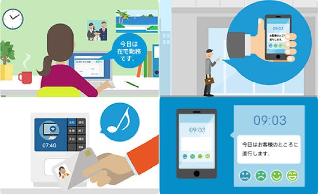 勤怠管理をプレゼンスや打刻場所とつなげて「働き方改革」にもつなげよう:Apps and Partners様とPhoneAppli様が登壇「TeamSpirit Connect」パートナー共催セミナー