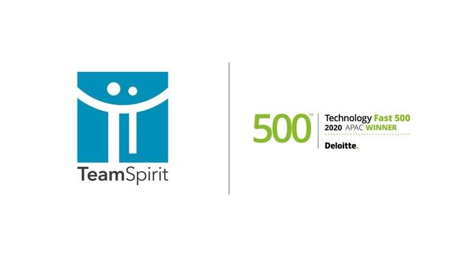 チームスピリット、テクノロジー企業成長率ランキング 「2020年 アジア太平洋地域テクノロジー Fast500」を5期連続受賞