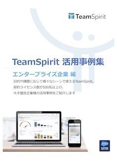 TeamSpirit 活用事例集「エンタープライズ企業 編」