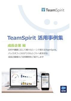 TeamSpirit 活用事例集「成長企業 編」