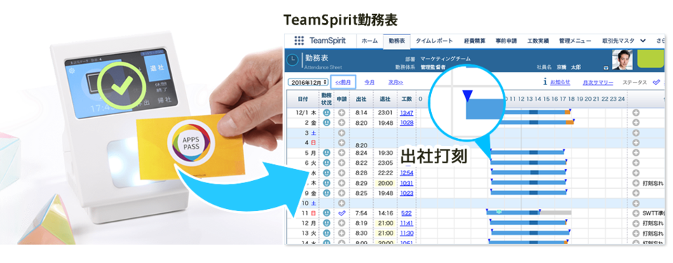 APPS PASS for TeamSpirit